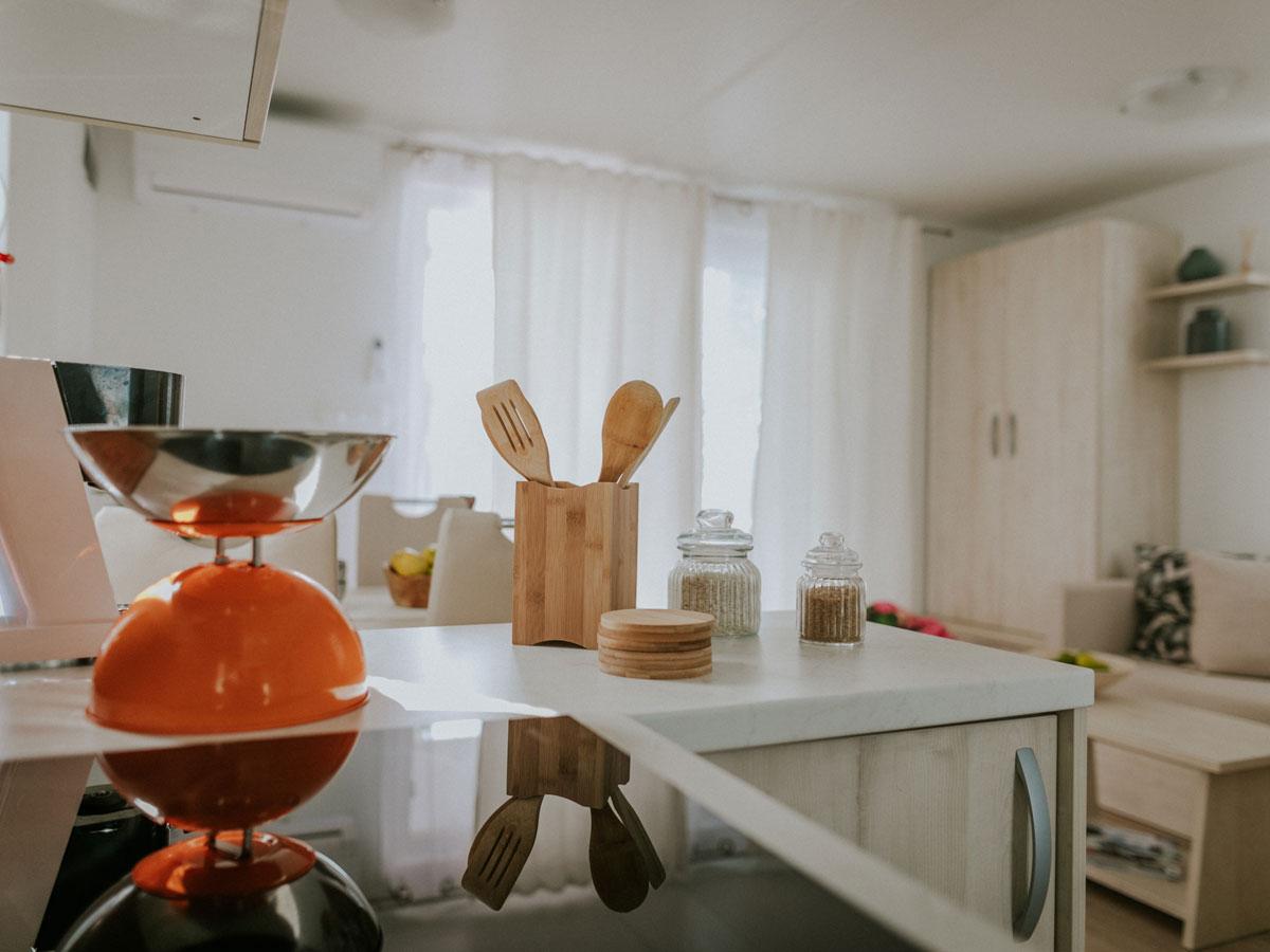 Kuhinja v hišici Fiona